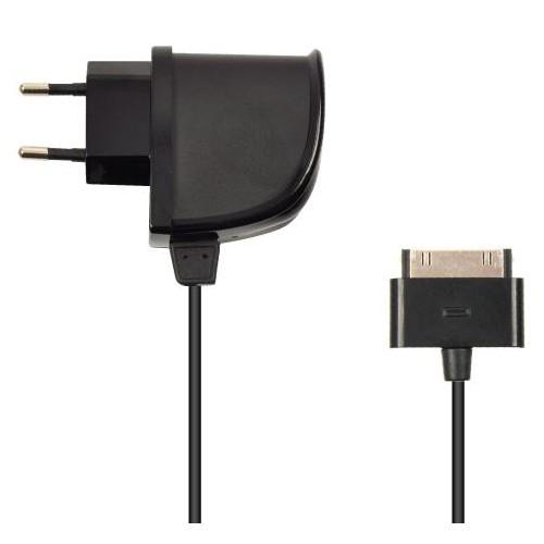 Muvit Chargeur Secteur Noir Compatible Apple Ipad