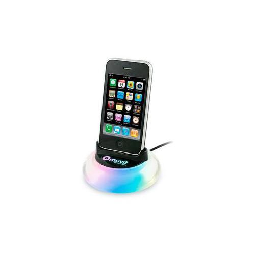 Muvit Socle De Chargement Pour Iphone Noir Avec Le