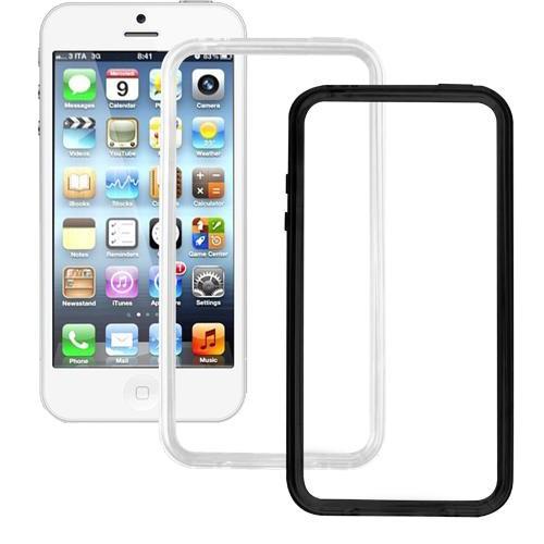 Pack de deux bumpers semi-rigides pour iPhone 5 :