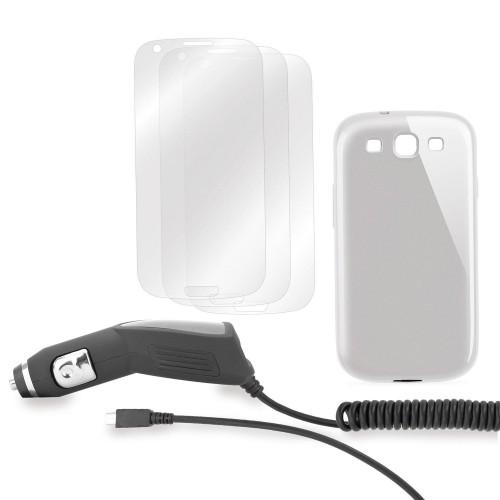 Pack Starter XQISIT Chargeur + Film de Protection