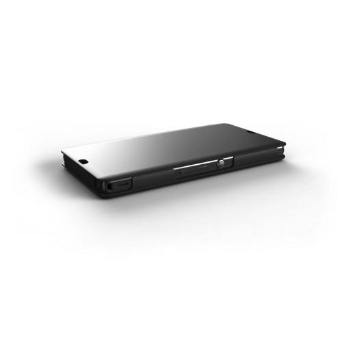 Mfx Etui Clapet Qi Noir Pour Sony Xperia Z Nouveau