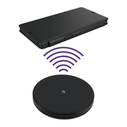 Pack Etui Clapet Et Station Qi Noir Sony Xperia Z