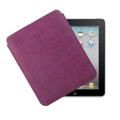 Muvit pocket slim classic pu croco violet pour app