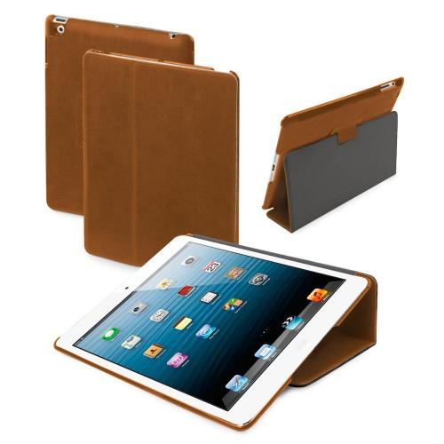 Muvit Etui Fold Stand Pu Camel Apple Ipad Mini Nou