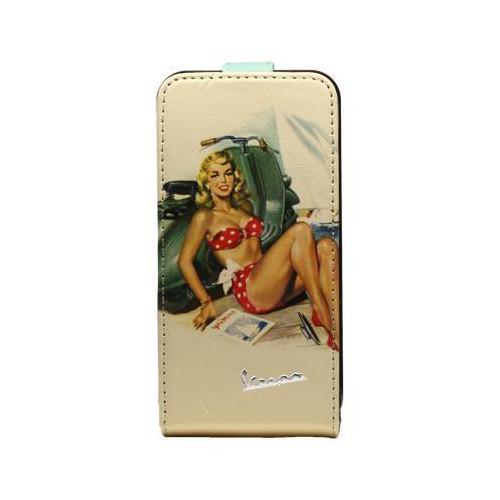 Housse VESPA Pin-uP pour Apple iPhone 4S Nouveau