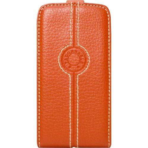 Housse FACONNABLE Orange pour Apple iPhone 5 Nouve