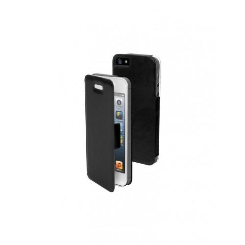 Housse FOLIO Noir Ultra Fine pour Apple iPhone 5 N