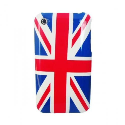 Coque Arriere Drapeau UK pour Apple iPhone 3G/S No