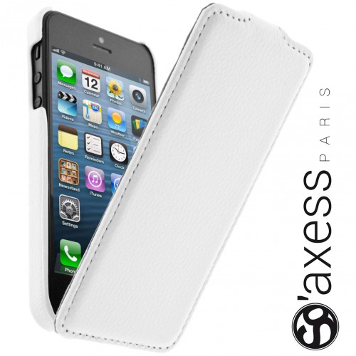 Housse à Rabat SO' Axess Blanc pour Apple IPhone 5