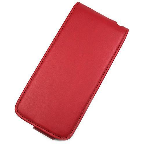 Housse à rabat Rouge avec miroir pour Apple iPhone