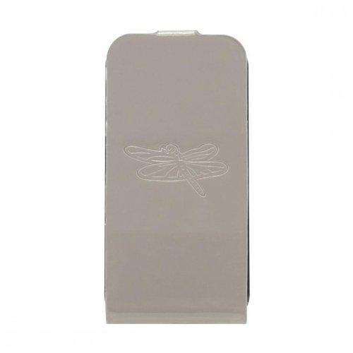 Etui coque taupe motif libellule pour iPhone 4/4S