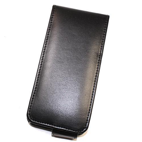 Housse / Etui à rabat Noir pour Apple IPhone 5 Nou