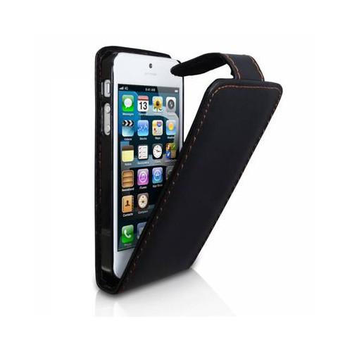 Etui Portefeuille Simili Noir Apple I-Phone 5C Nou