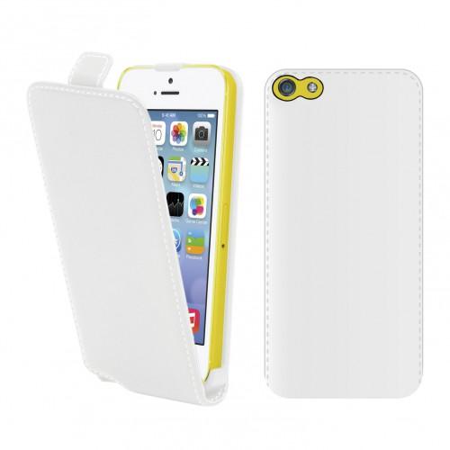 Etui slim blanc pour apple iphone 5c Nouveau