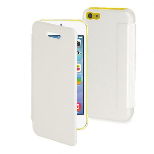 Muvit etui easy folio blanc pour apple iphone 5c N