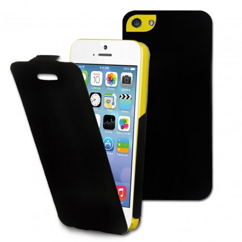 Muvit etui iflip noir apple iphone 5c Nouveau