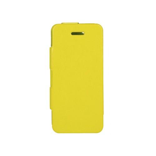 Housse à rabat jaune Xqisit ULTRA FINE pour Apple