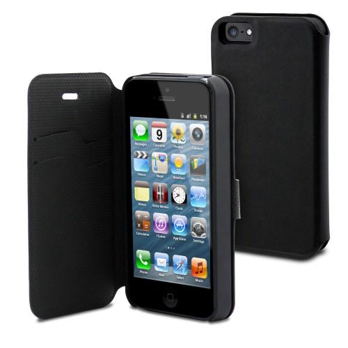 Housse / Étui Magic Folio Noir pour Apple iPhone 5