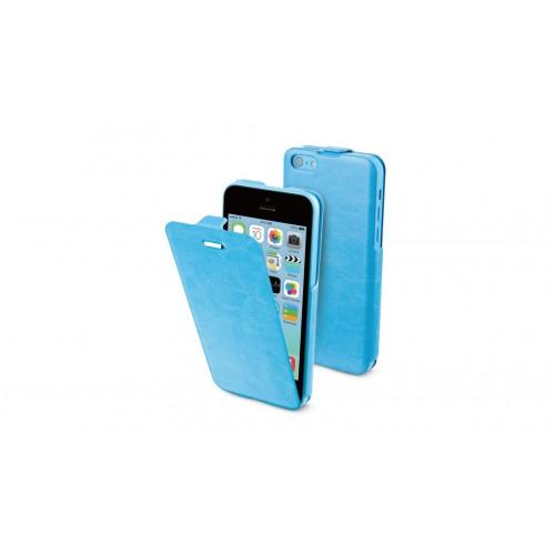 Muvit étui iFlip bleu avec film protecteur pour Ap
