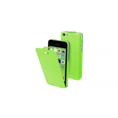Muvit étui iFlip vert avec film protecteur pour Ap