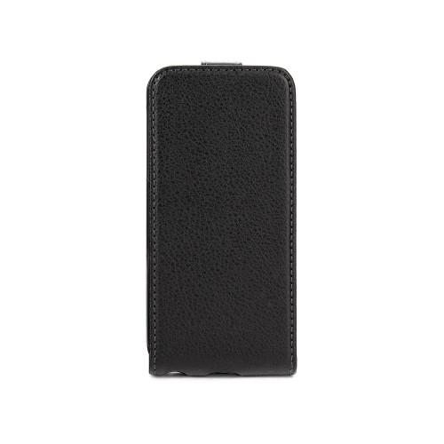 Housse à rabat noire Xqisit pour Apple iPhone 5S N