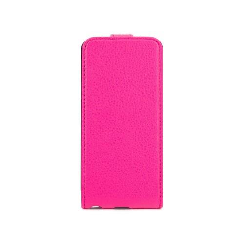Housse à rabat rose Xqisit pour Apple iPhone 5S No