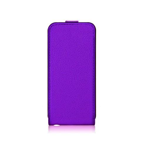 Housse à rabat violette Xqisit pour Apple iPhone 5