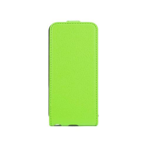 Housse à rabat verte Xqisit pour Apple iPhone 5S N