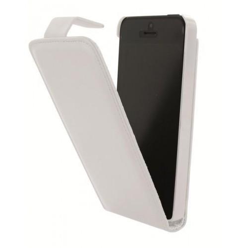 Etui à rabat Executiv blanc pour Apple iPhone 5S