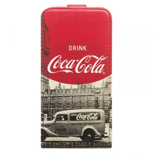 Housse à rabat COCA COLA City Cab pour Apple iPh