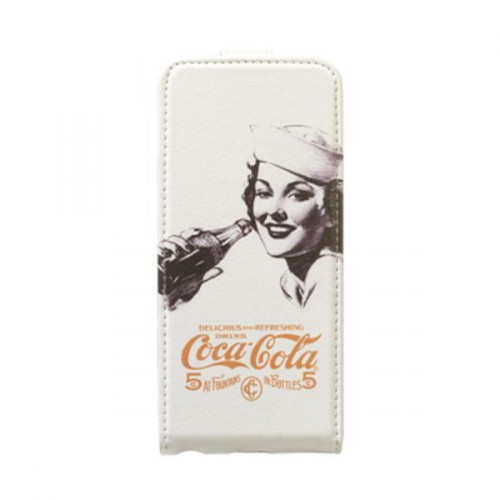 Etui à rabat Coca-Cola Golden Beauty pour Apple iP