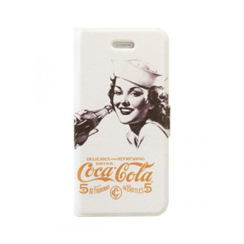 Etui Coca-Cola Booklet Golden Beauty pour Apple iP