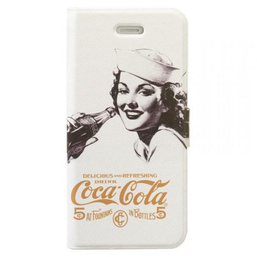 Etui Coca-Cola Booklet Old 5cents pour Apple iPhon