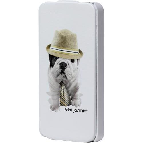 Etui à rabat Teo Jasmin Giorgio pour iPhone 4/4S N