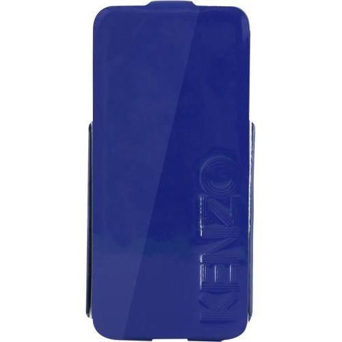 Etui coque Kenzo bleu glossy pour iPhone 5/5S Nouv
