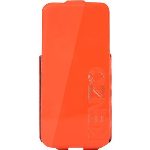 Etui coque Kenzo orange glossy pour iPhone 5/5S No