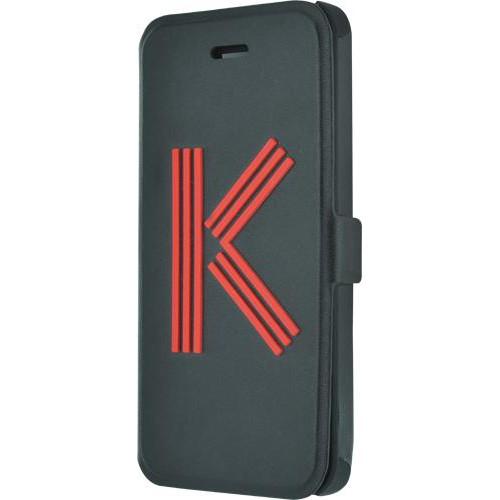 Etui folio Kenzo noir Logo K pour iPhone 5C Nouvea