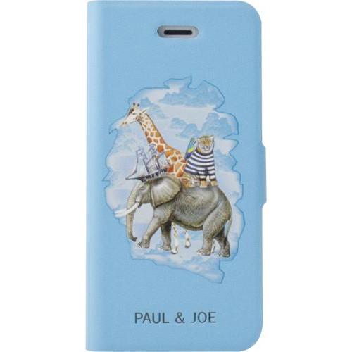 Etui à rabat Paul   Joe bleu Arche de Noé pour iPh