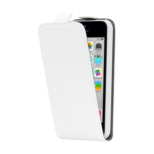 Etui Flip Blanc pour Apple iPhone 5S Nouveau