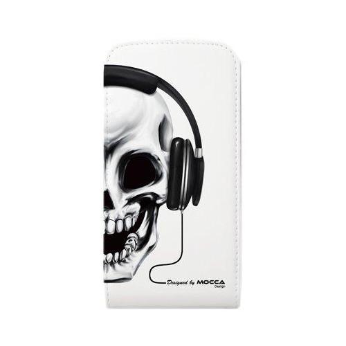 Etui à rabat en simili cuir Blanc pour Apple iPhon