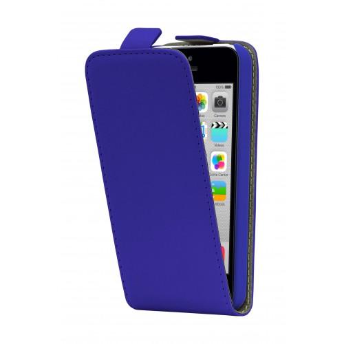Housse à clapet Bleue Classic pour iPhone 5C Nouve