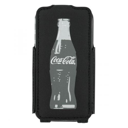 Housse à clapet Coca-Cola grey Bottle pour Apple i