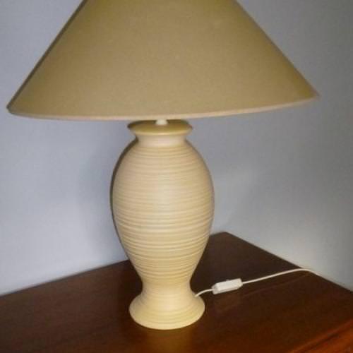 lampe avec abat-jour