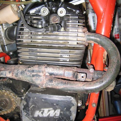 moteur ktm 504 gs rotax 1984
