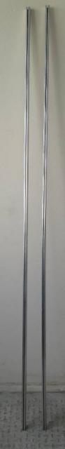 Rails simples pour rideaux 2 m
